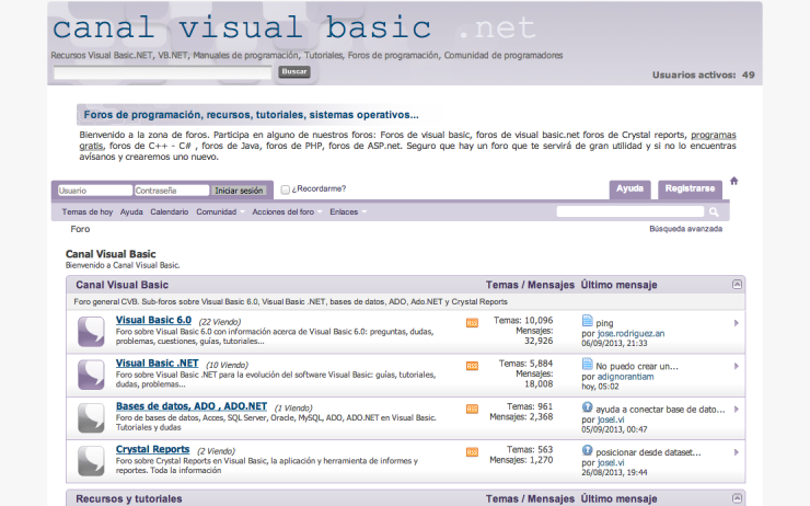 Canal Visual Basic